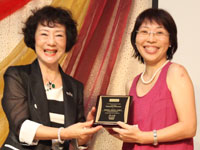 Christine Wong awarded Platinum Directorship by DP Maria Moon