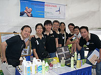 The Scent'al team at the Active Aging Carnival