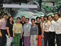 The pioneer batch of Meridian 101 Ambassadors in Manila